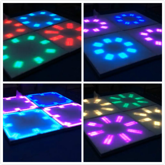 new product led 100100cm dance floor