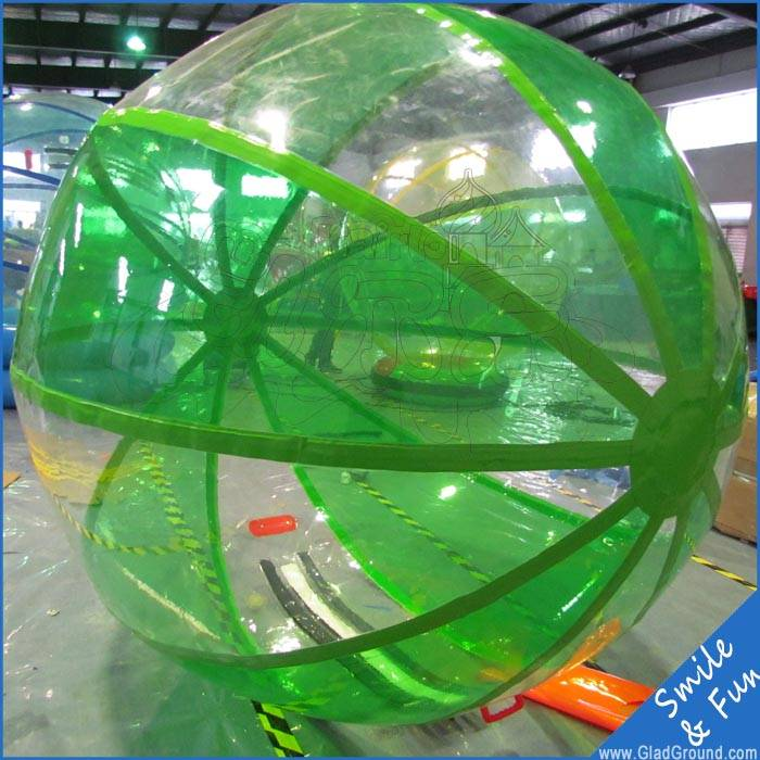 Big water ball inflatable with TPU 01.0mm material inflatable water walking ball