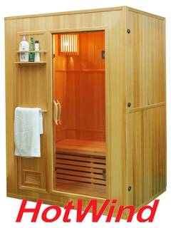 Traditional Steam Sauna Wooden sauna room
