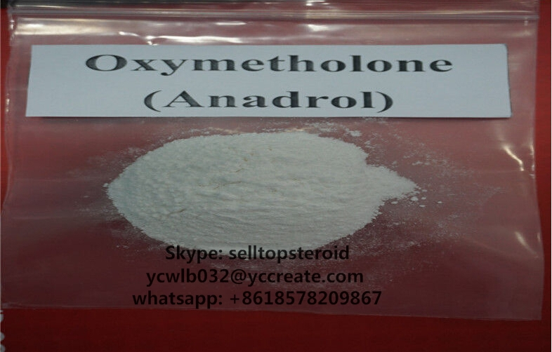 Pure Raw steroid powder anadrol oxymetholone made in China for Muscle bulking