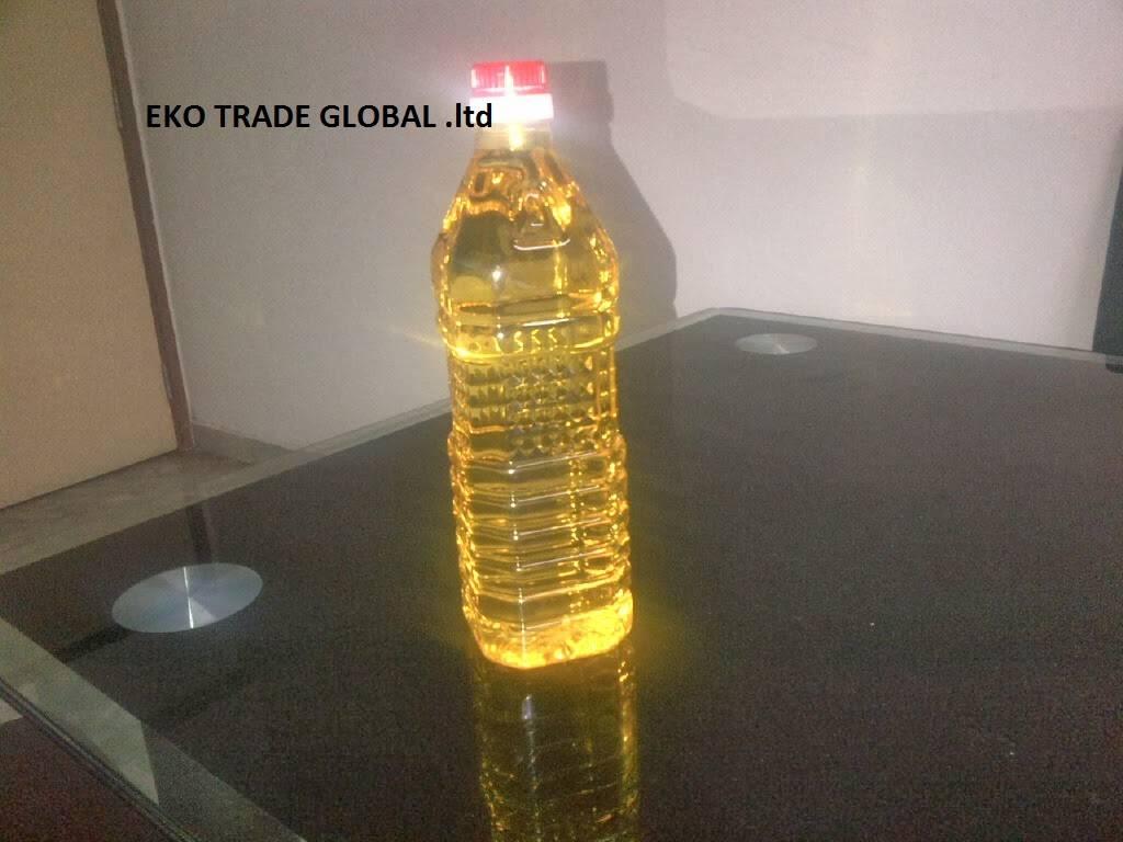 Grade-refined sunflower oil