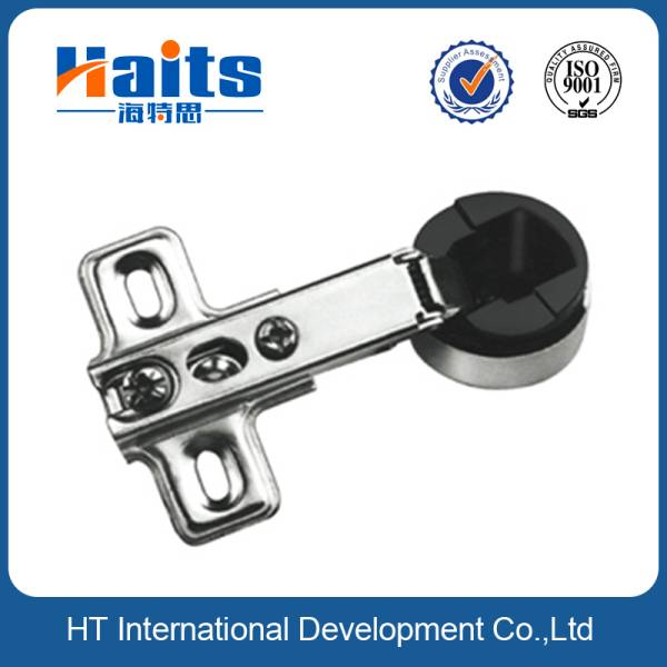 26mm slide-on one way glass hinge for rounded glass door