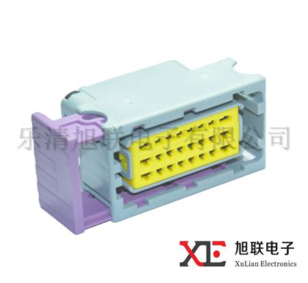 FCI 24 Way Female Electrical Plastic Auto Wire Connector 211 PC249S8005 211PC249S8005