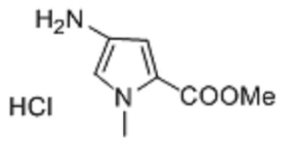 4-Amino-1-methyl-1H-pyrrole-2-carboxylic acid-methylester HCL