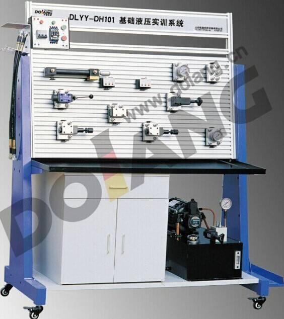 Didactic Educational equipment, vocational Training Teaching Equipment, Pneumatic Sensor Trainer Bas
