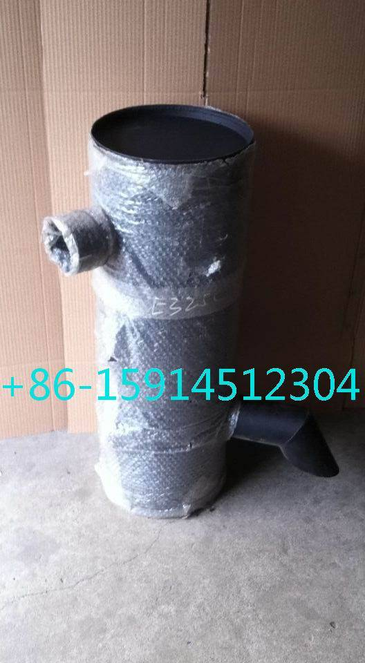 1R-1804 caterpillar E325C muffler with tube for excavator