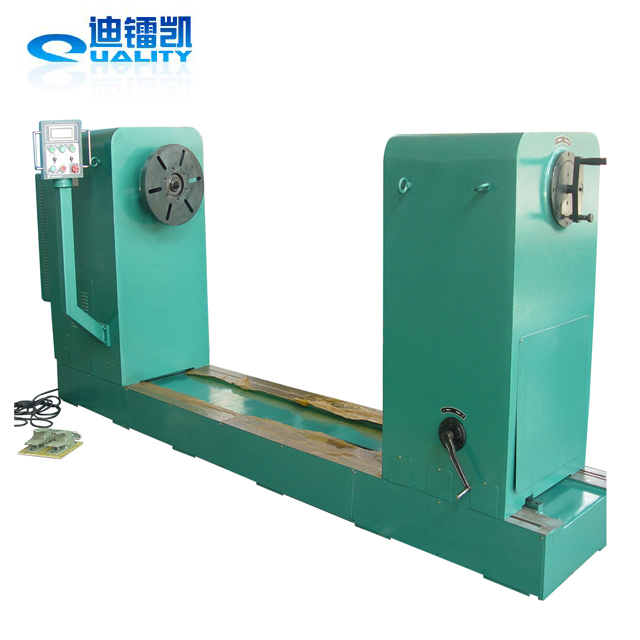low voltage coil winding machine to wind flat wire