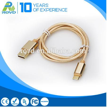 New 1 m usb C - Type Micro Data Cable for Mobile Phone