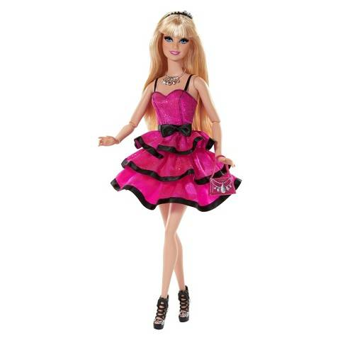 Customized red address Princess doll long blond hair Plastic Toy