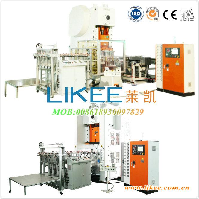 Aluminium foil container machine punching machines