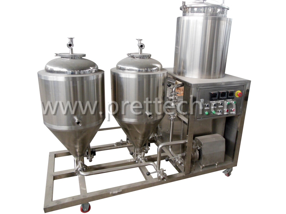 50 liters pressure fermenter for beer brewing equipment