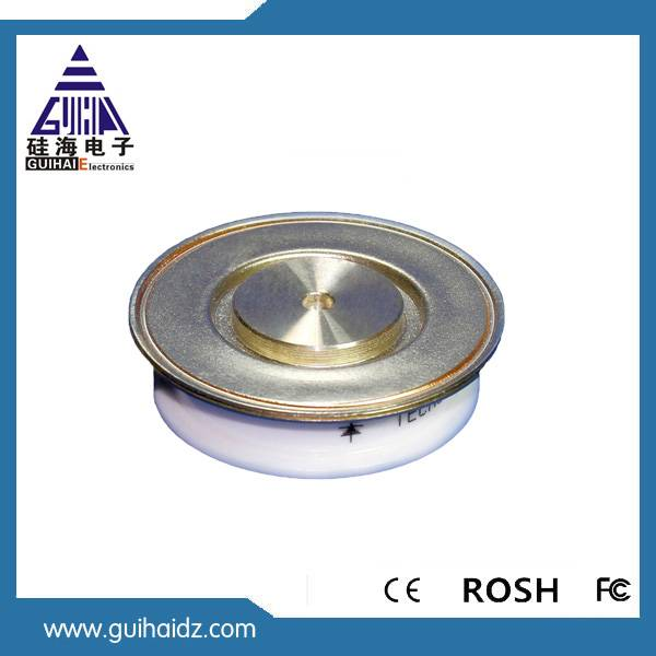 High dV Pressure Assembled Center Amplification Asymmetric Thyristor