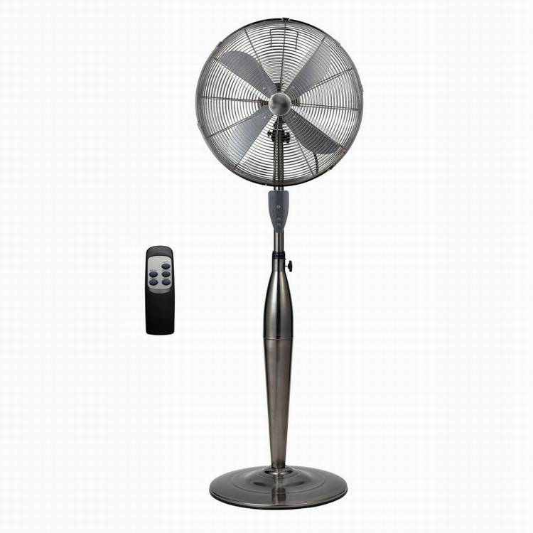 Remote Control Timer 16 inch 50w Metal Electric Stand Fan
