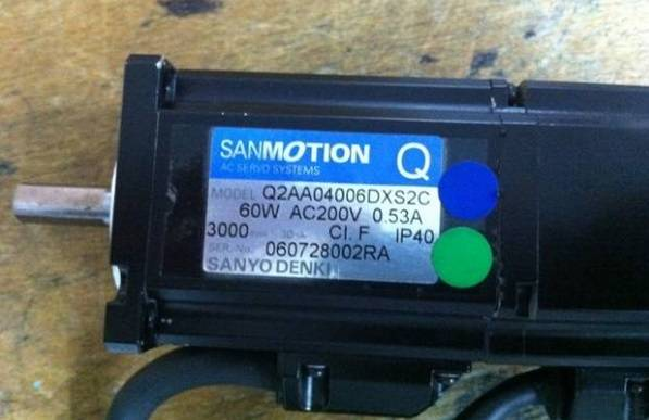 YG200R/Z motor Q2AA04006DXS2C for yamaha smt pick&place machine