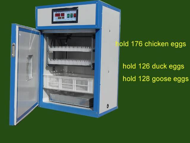 duck egg hatching equipment for 200-300 eggs