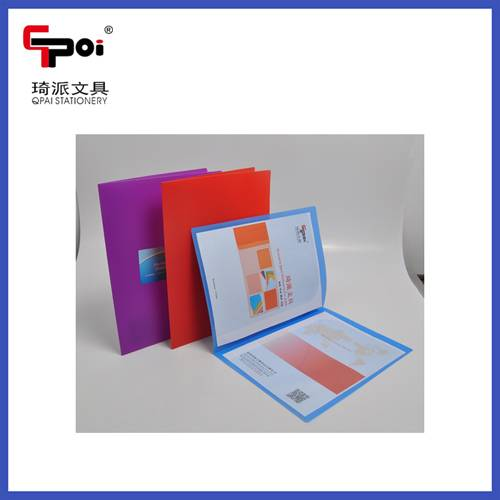 PP Stationery A4 Customized Presentation Report File Business Card Holder File Folders