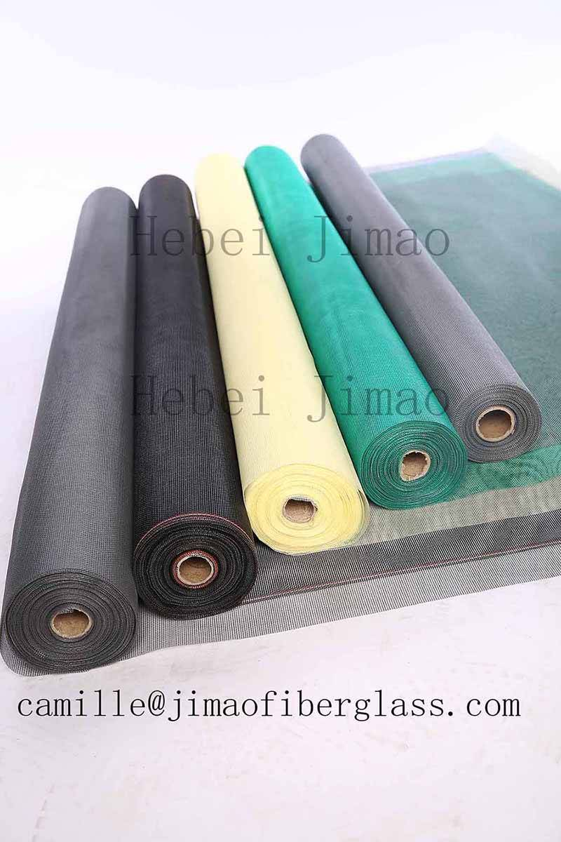 China Manufacturer Roller OEM Screens Fiberglass Insect Window Screens In Rolls