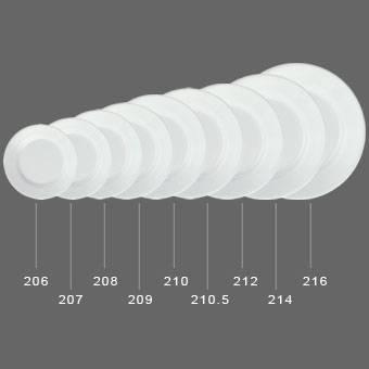 "Melamine  10.5"" Buffet Round Plate/100%Melamine Tableware (WT210.5)"