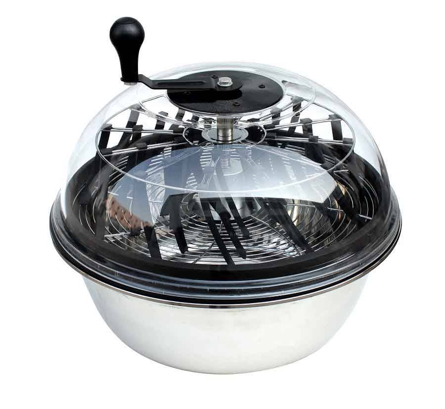 Fixed Handle ECO Clear Top Motorized Bowl Trimmer