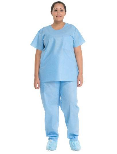 Disposable Non Woven Scrub Suit