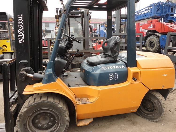 Used Toyota Forklift 5T For Sale