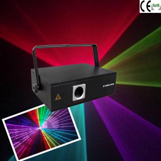 RGB 1w animation laser light