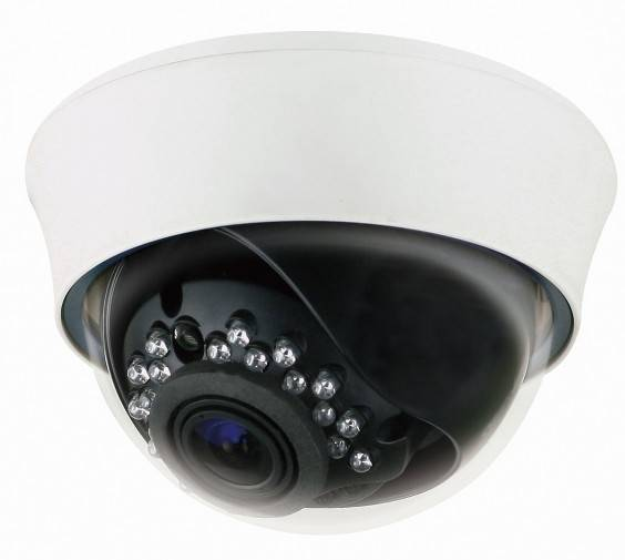 "1/3""Sony CCD Effio-e 700TVL Dome camera,varifocal lens 2.8~12mm,21pcs IR LED ,with Cable control OSD"