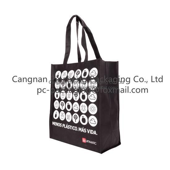 pp/non woven shopping bag with handle