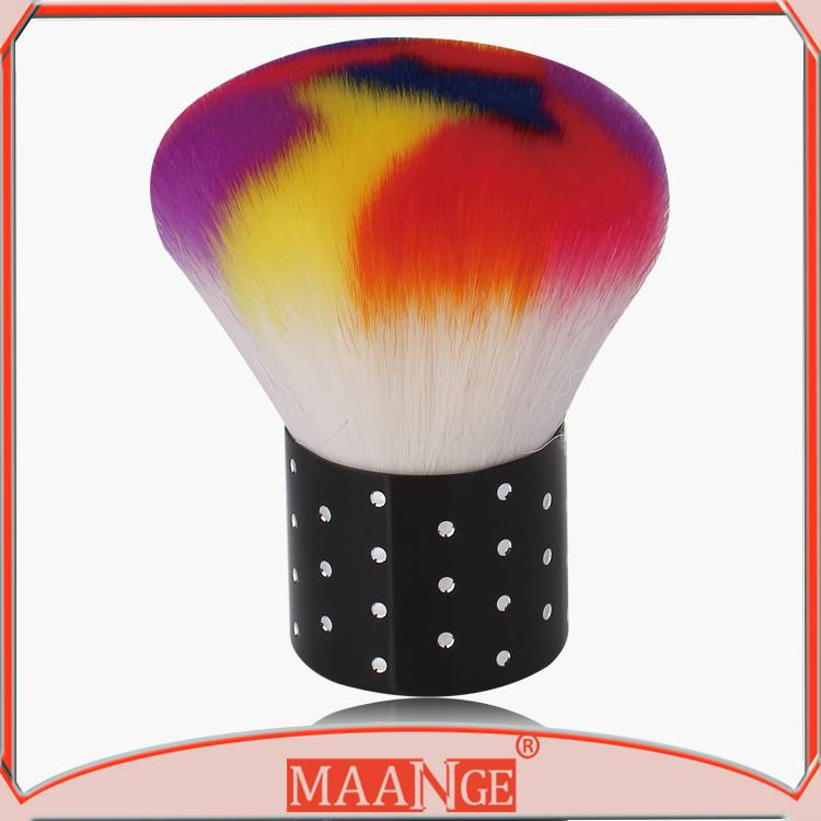 MAANGE Colorful nylon hair nail brush clean brush for nails
