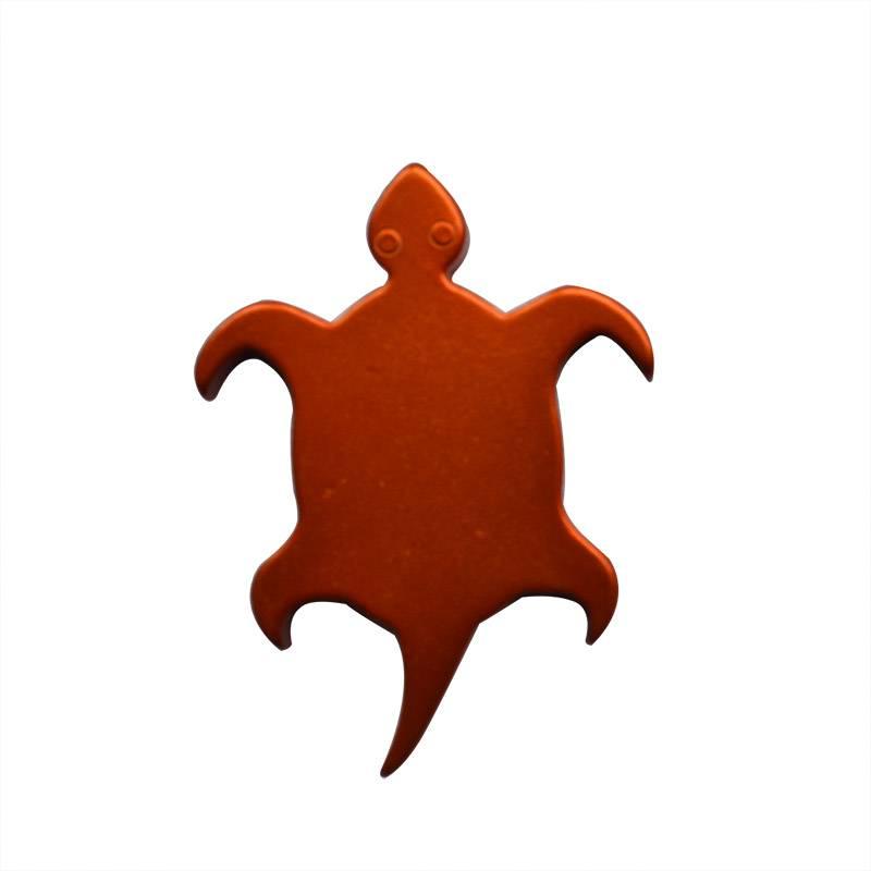 trutle shape metal bottle opener
