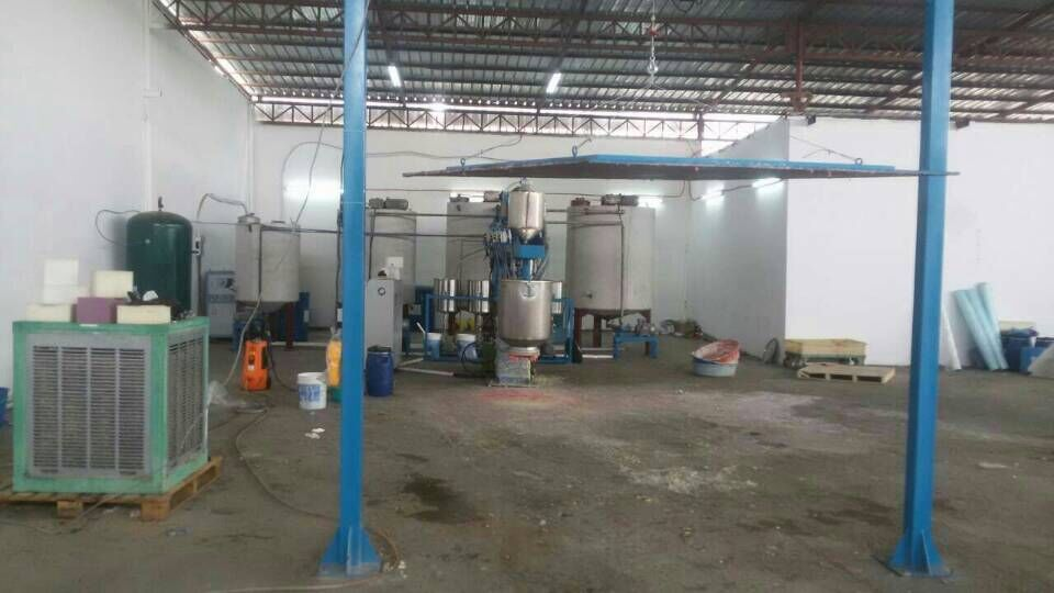 sponge machinery for sponge factory