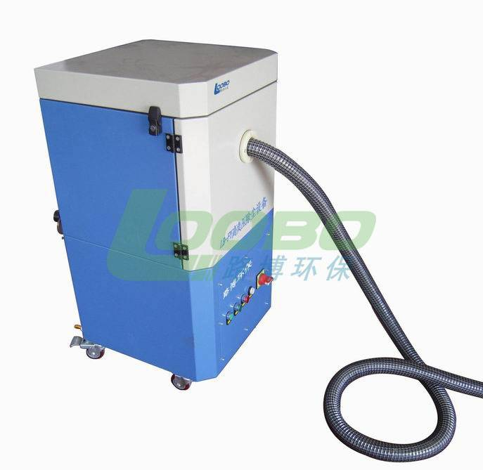 LB-JF portable high negative pressure welding smoke purifer espesially for the welding gun connectio
