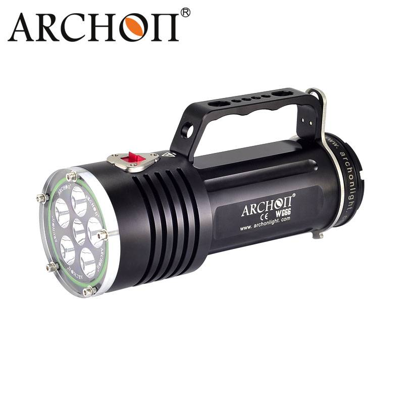Archon 5000lumens WG66 Diving Flashlight Underwater Light