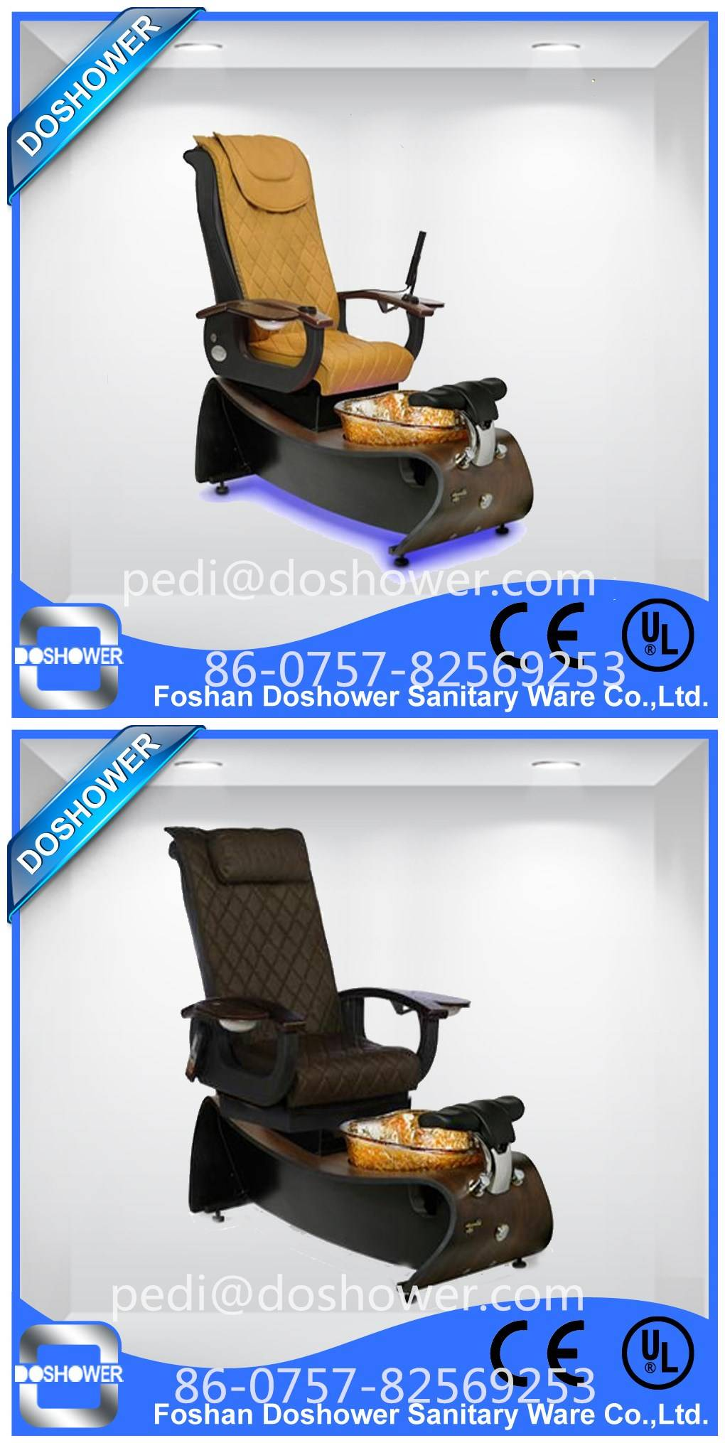 Doshower DS-W21 pedicure foot spa massage chair of pedicure benches