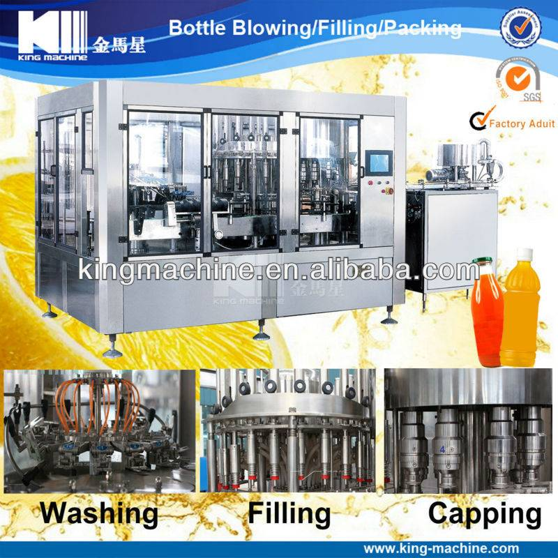 Beverage Filling Machine Water Treatment Plant