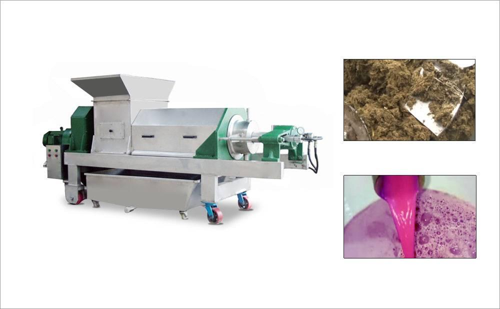 Twin-Screw Juice Squeezer Juice Extractor Machine For Commercial Purpose