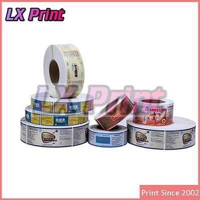 Custom product label sticker ,sticker label printing, label