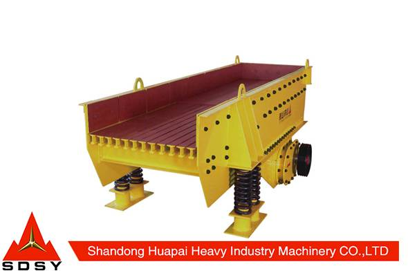 Small Products Manufacturing Machines roller crusher Vibrating Feeder