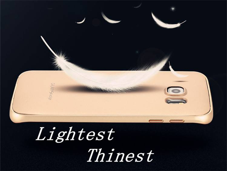 Luxury mobile phone cases for samsung galaxy s6 edge g9250 Aluminum phone cases made in factory