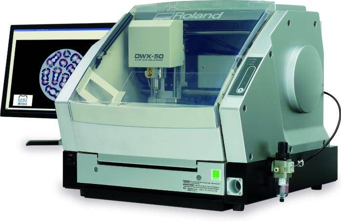 Roland DWX-50 3D Dental Tooth Milling Machine