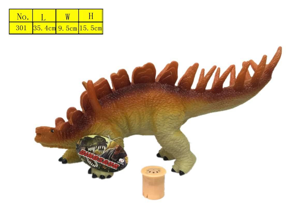 Hand painted enviroonmental plastic dinosaur vinyl model toys with EN71 for children from manufactur