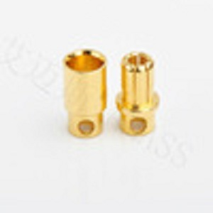 RC bullet connector,spring pin connector high current