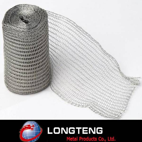 0.25mm 316L Stainless Steel Kintted Wire Mesh in Anping
