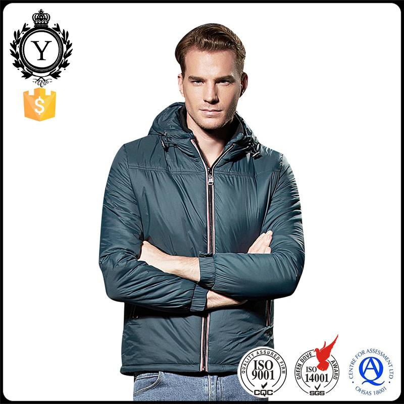2016 Coutudi Winter Apparel Hooded Ultra Light Weight Waterproof Mens Duck Down Jacket