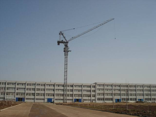 8t 6t luffing tower crane