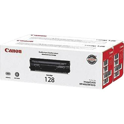 Canon 128 Black Toner - 2 Pack