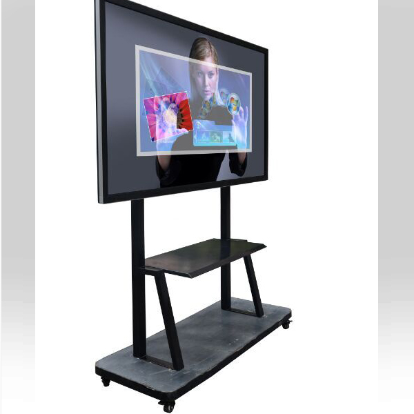 75inch 10 users 4K UHD LED touch screen built-in OPS for class teaching