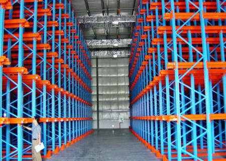 Drive-in Pallet Racking For Warehouse