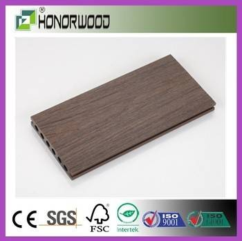 decorative garden fencing garden co-extrusion wpc decking floor / solar floor tile / heated floor