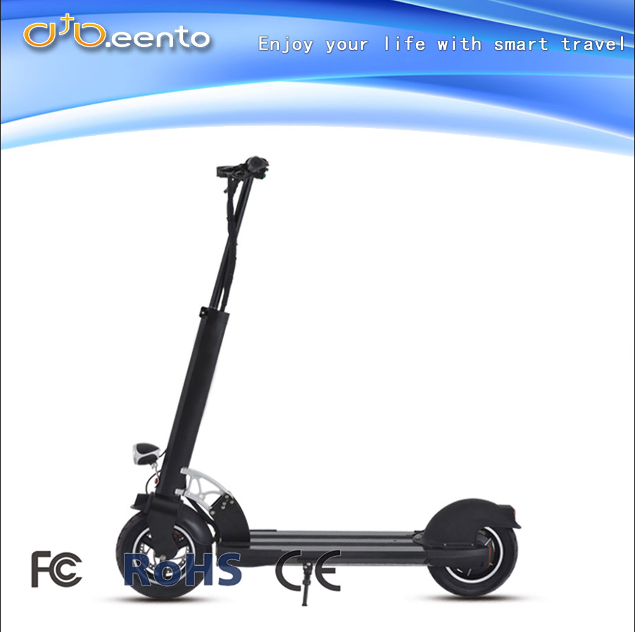 2017 China new style lightest 2 wheel Aluminum electric scooter